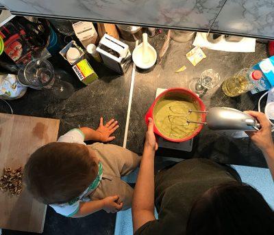 kuhanje z otrokom
