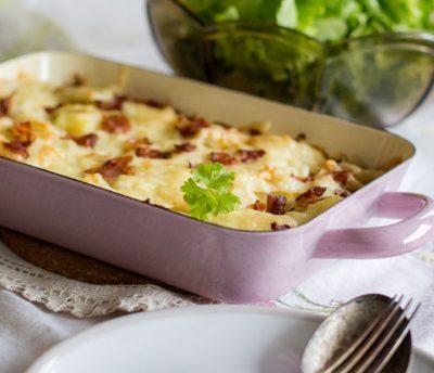 gratiniran krompir recept