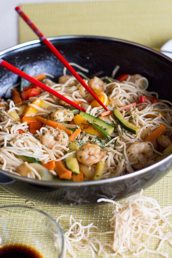 azijski rezanci recept