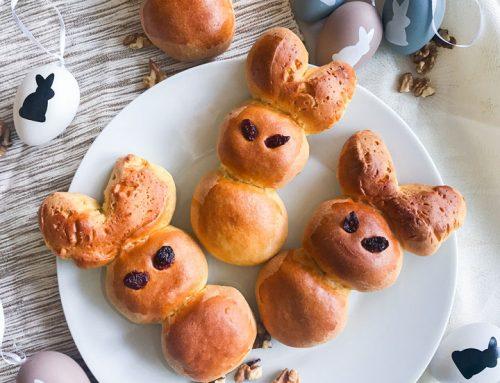 Polnjeni velikonočni zajčki