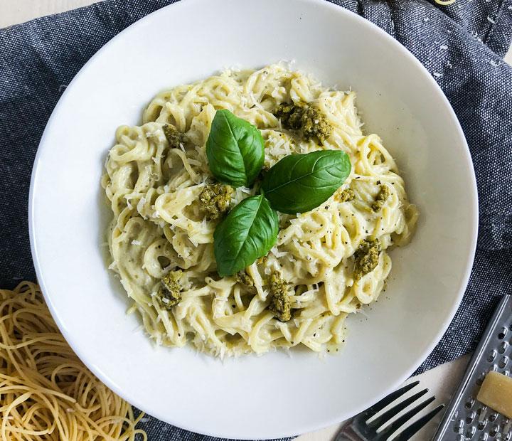 Pesto Alla Genovese špageti
