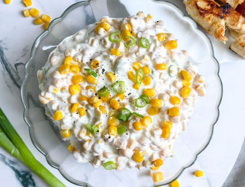 Easy Creamy Corn Salad