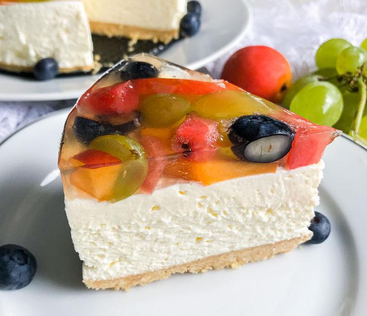 cheesecake s sadjem
