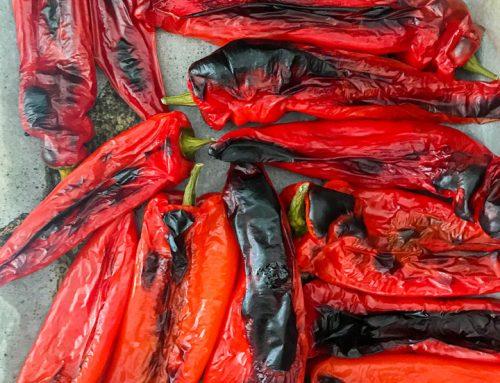 Kako spečemo rdečo paprika v pečici?