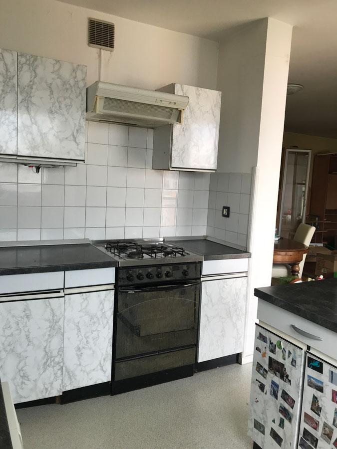 prenova kuhinje v stanovanju